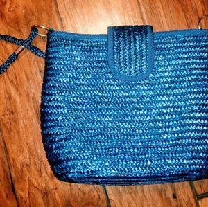 🔥Like NEW! Croft & Barrow Woven Shoulder Bag 🔥